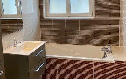 La salle de bains fait peau neuve