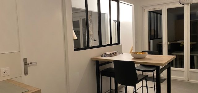 Rénovation cuisine – espace repas
